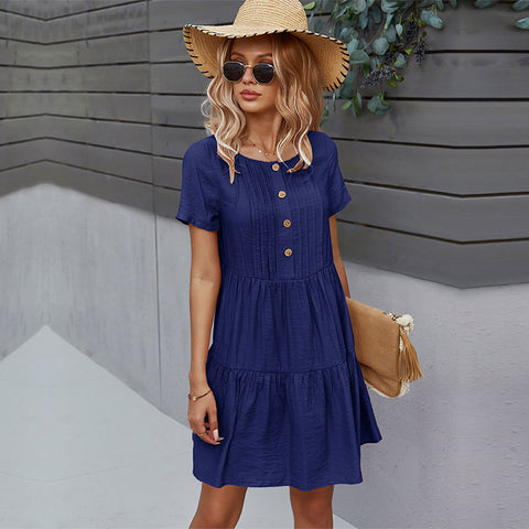 Sunny Day Casual Summer Dress