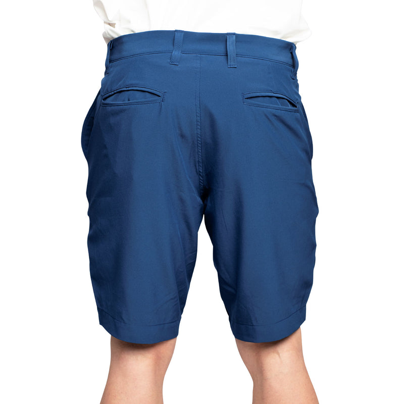 navy men's golf shorts