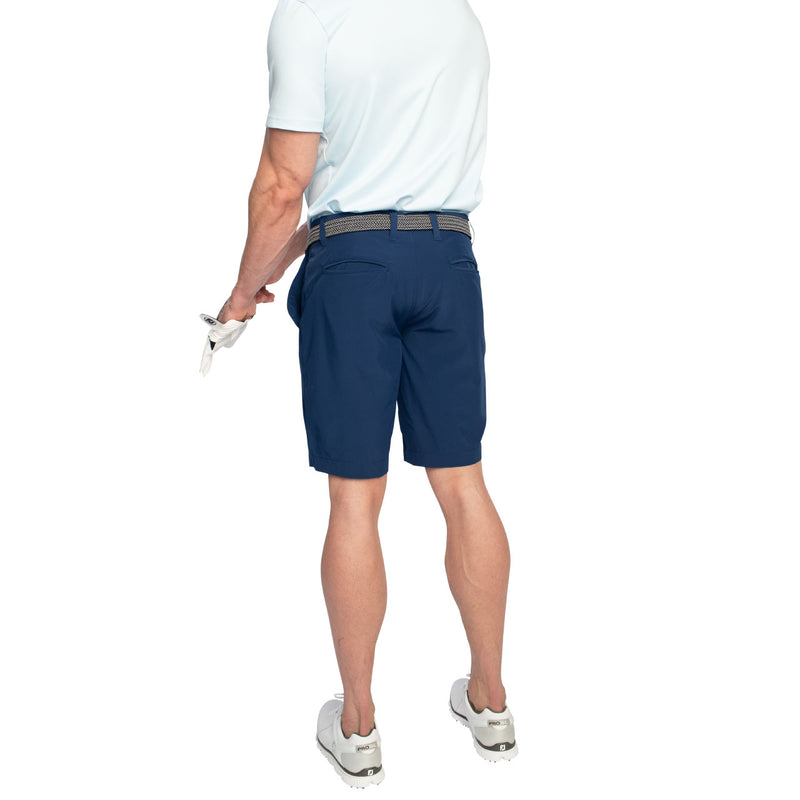 navy modern golf shorts