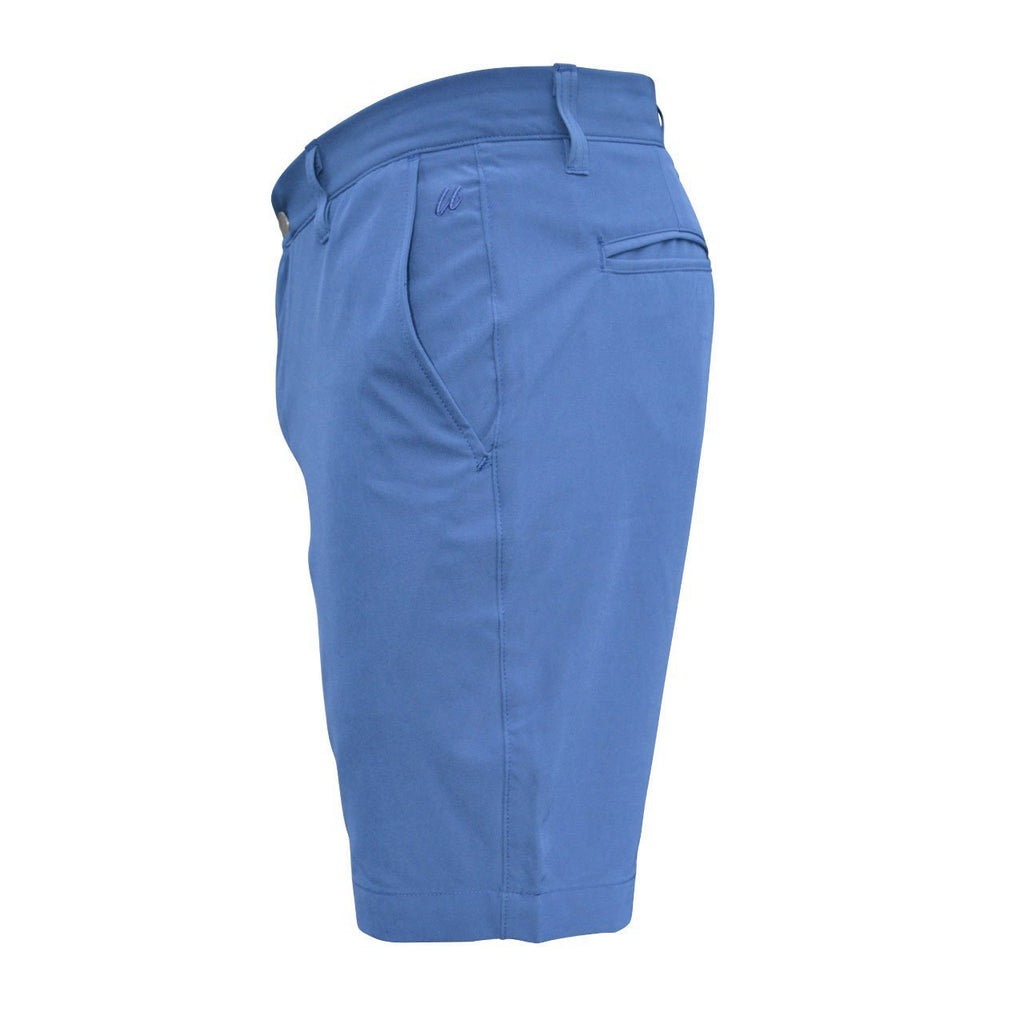 navy modern fit golf shorts