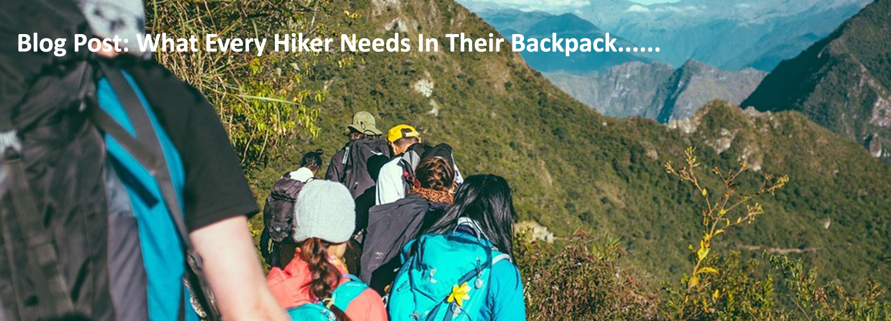 What Every Hiker Needs In Their Backpck