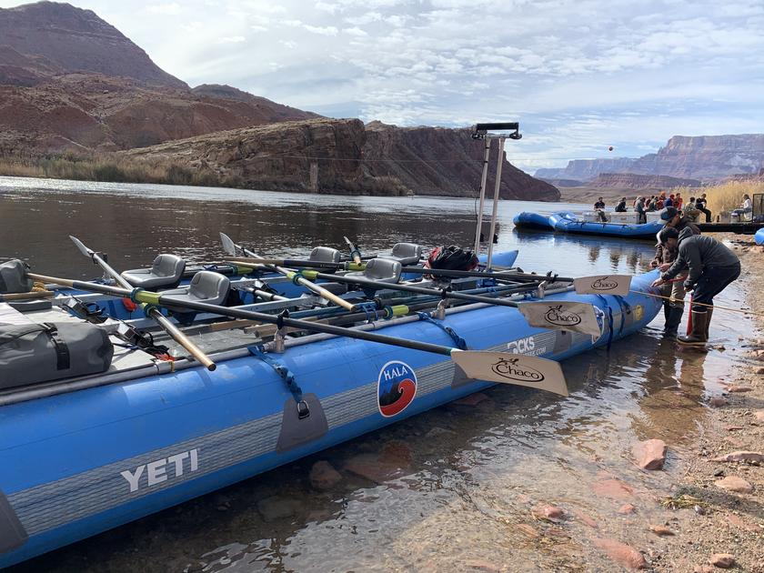 Rowing for the Record: Grand Canyon Speed Run 2020 + Raising awareness for Grand canyon youth
