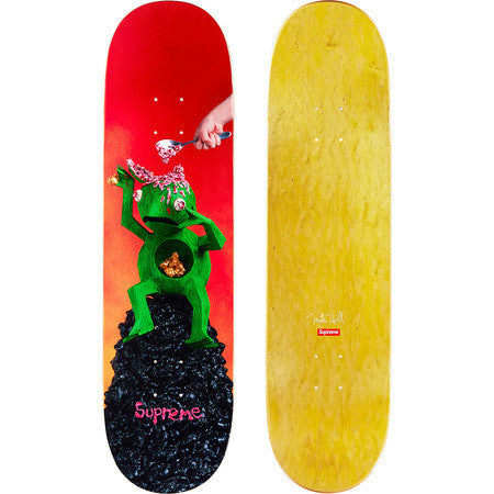 Supreme x Mike Hill Brains Skateboard DS