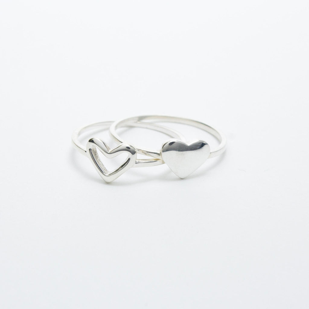 Sterling Silver Heart Ring