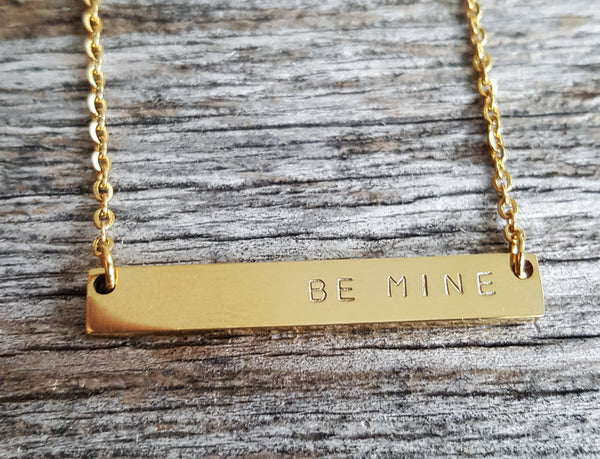 XOXO, Be Mine, & Love Necklaces