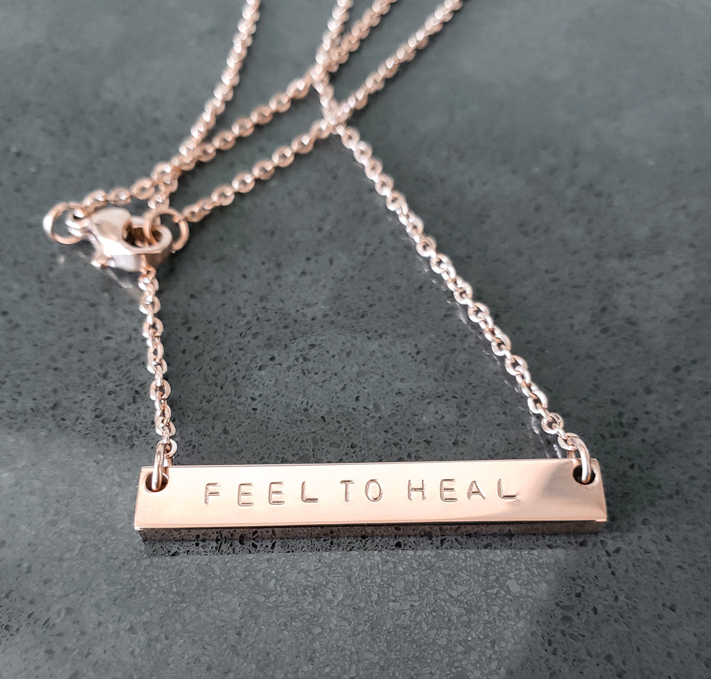 Feel To Heal Necklace