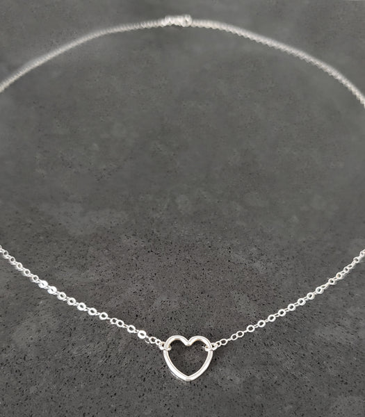 ⭐️ NEW ⭐️Sterling Silver Heart Necklace