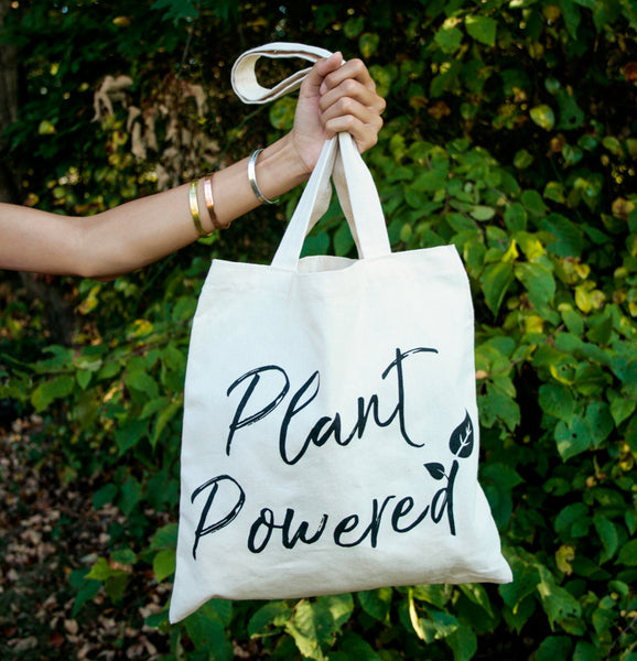 Plant Powered Cotton Tote
