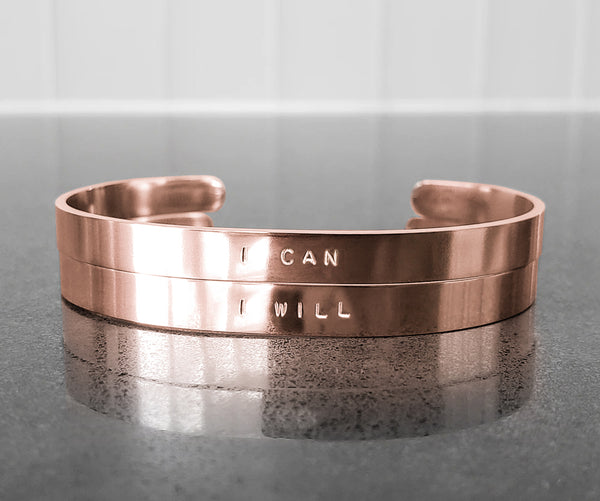 I Can & I Will Bracelets