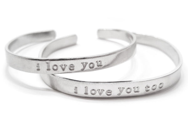 I love you, I love you too Bracelets