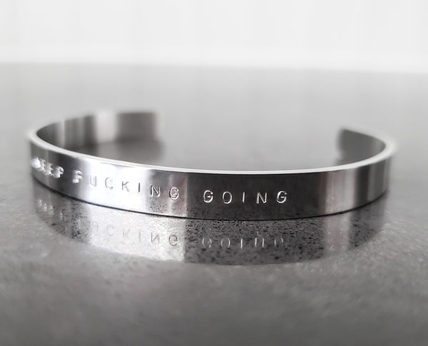 ⭐️ NEW ⭐️ Keep Fucking Going Bracelet