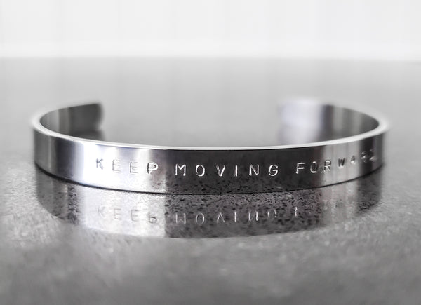 Keep Moving Forward Bracelet