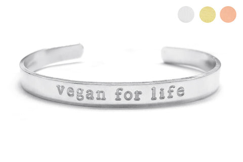 Vegan For Life Bracelet