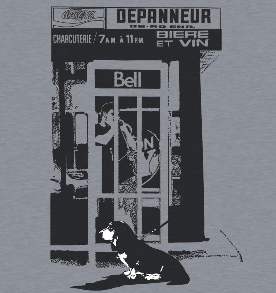 Bell, Beer and Basset T-Shirt - Onze Montreal