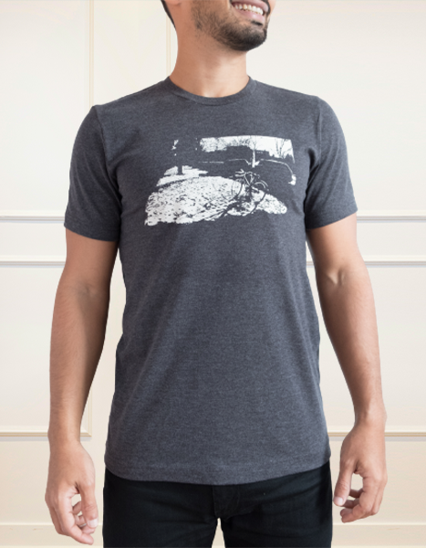 Bicycle T-shirt Homme Gris | Bicycle T-Shirt Men Grey