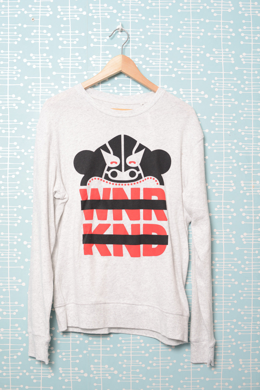 BUSK x WNRKND Cosy Sweater heather ash