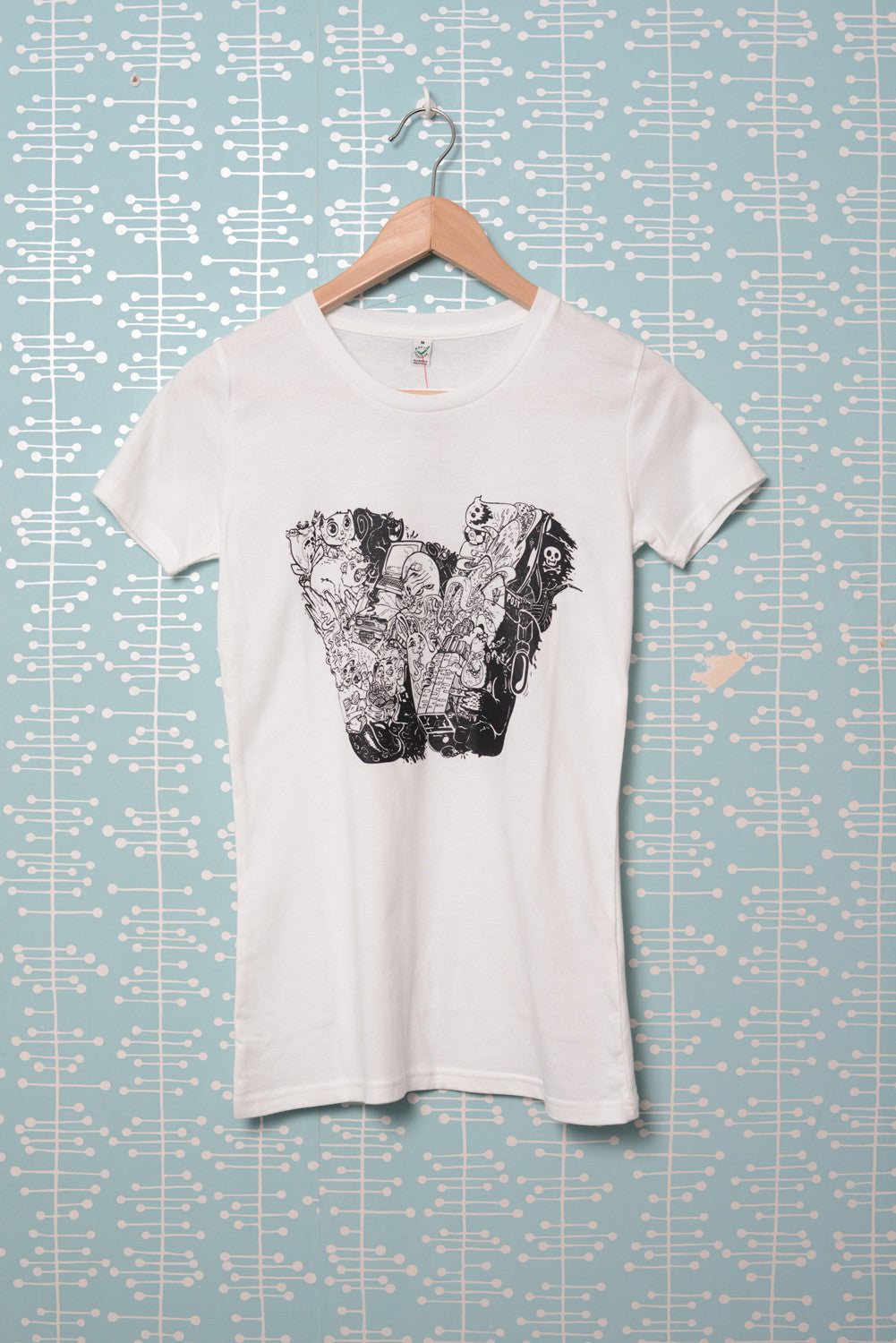 W Female T-Shirt white (Nychos)
