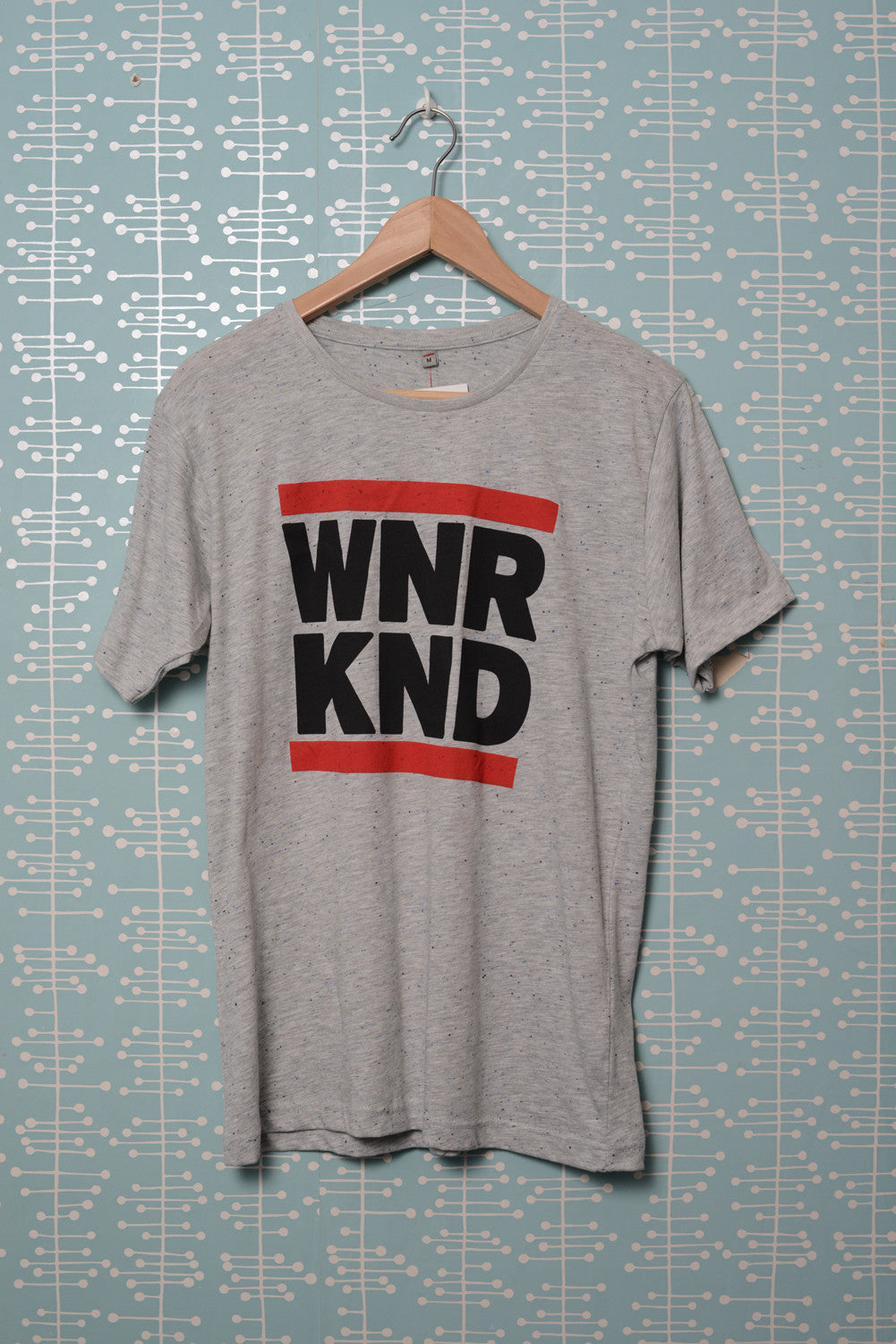 WNRKND Speckled Jersey T-Shirt grey