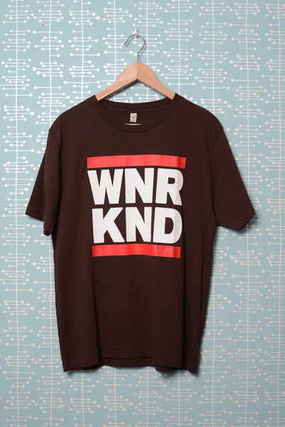 WNRKND Classic Jersey T-Shirt brown