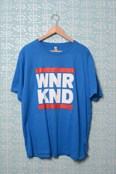 WNRKND Classic Jersey T-Shirt bright blue
