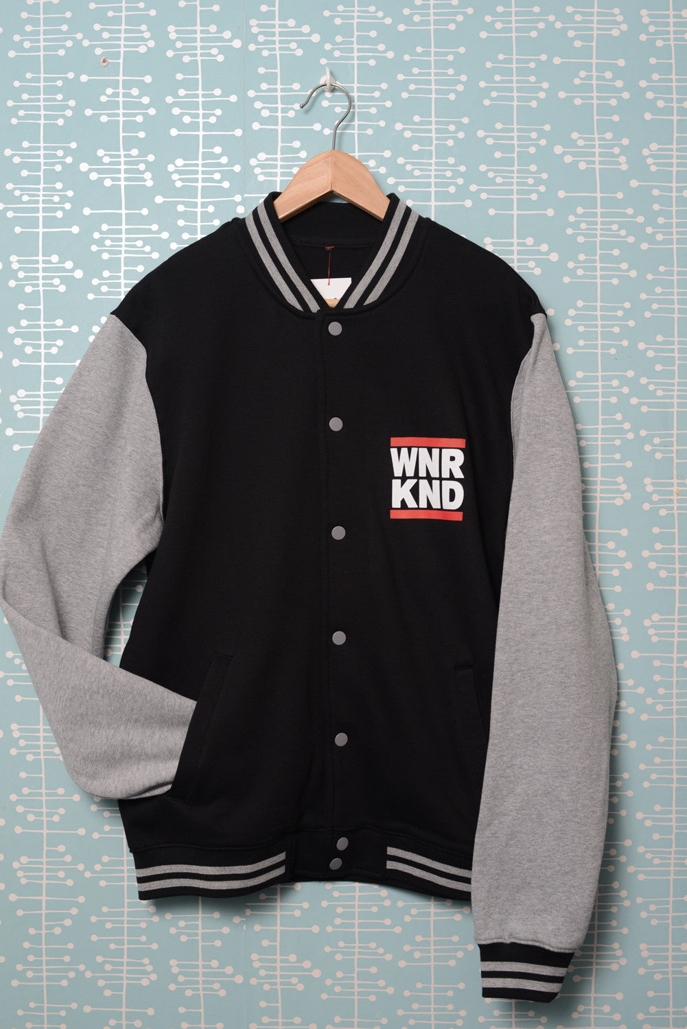 WNRKND Sweat College Jacket