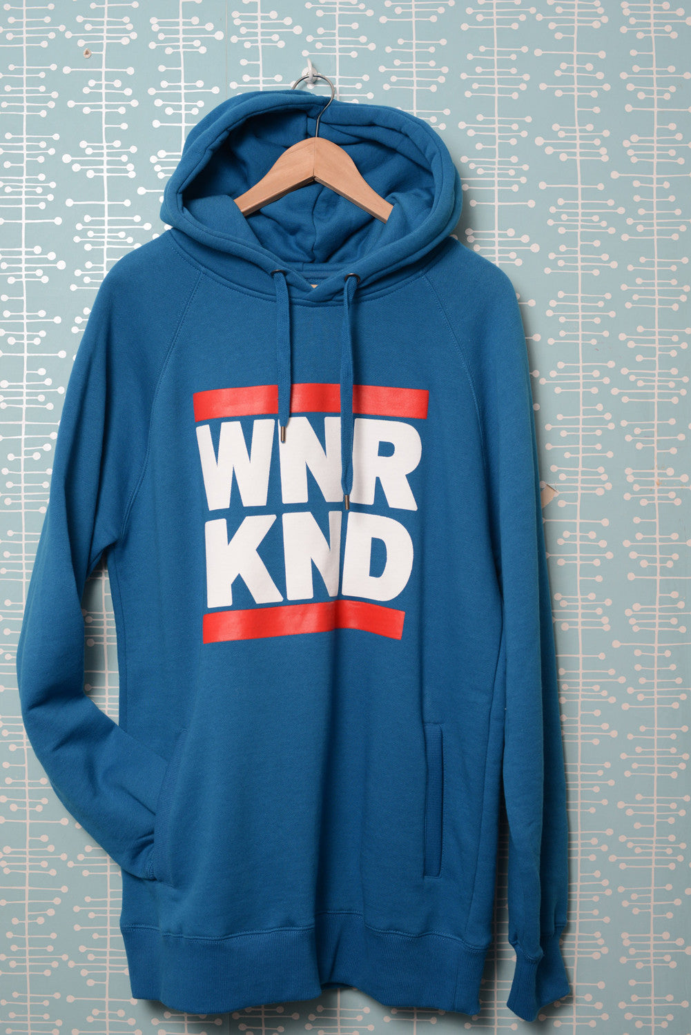 WNRKND Hoody With Side Pockets island blue