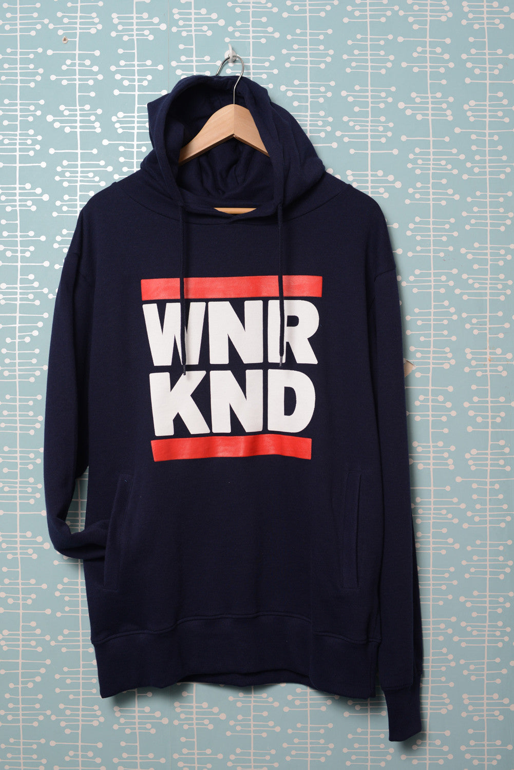 WNRKND Fashion Pullover Hoody navy blue