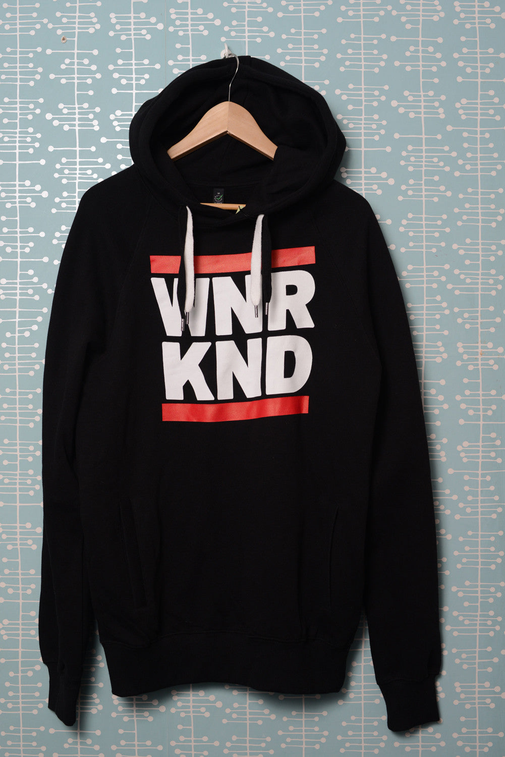 WNRKND Hoody With Side Pockets black