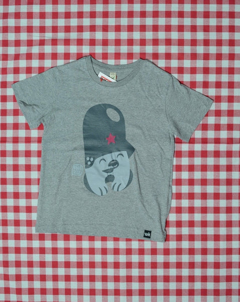 Flying Förtress X WNRKND Kids T-Shirt melange grey