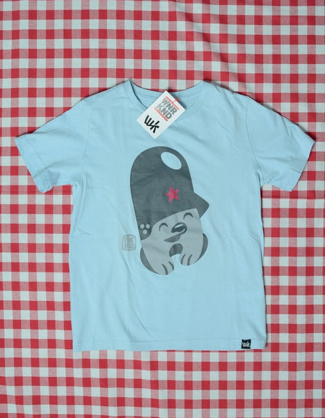 Flying Förtress X WNRKND Kids T-Shirt light blue