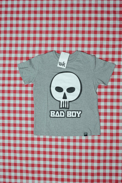 Bad Boy Kids T-Shirt melange grey (by The Schwarzfahrer)