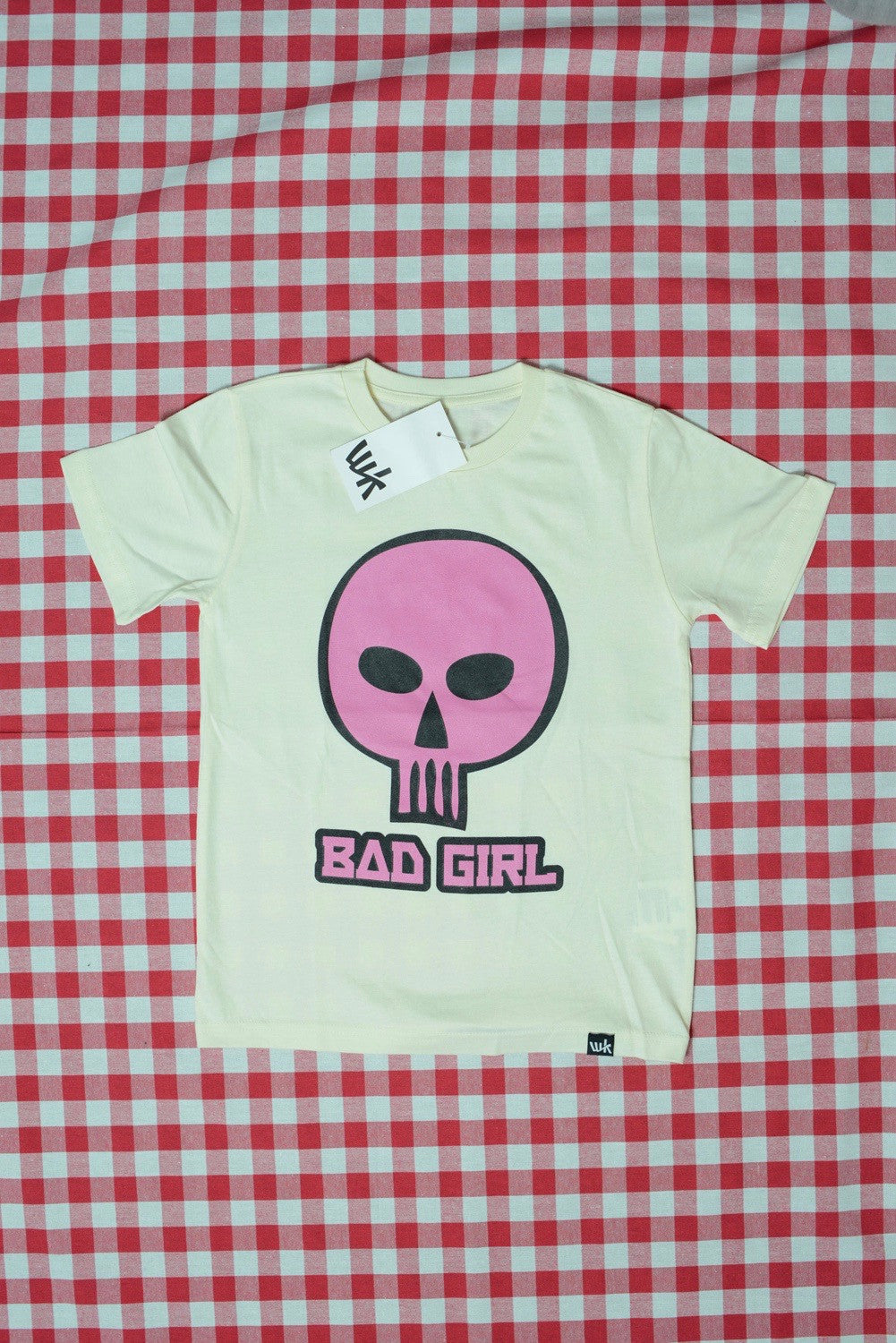 Bad Girl Kids T-Shirt ecru (by The Schwarzfahrer)