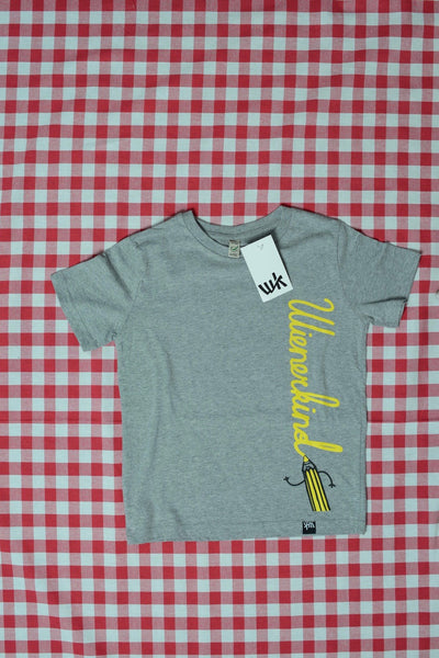 Pen Kids T-Shirt melange grey (by The Schwarzfahrer)