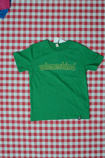 wienerkind Classic Jersey Kids T-Shirt kelly green (DJ DSL)