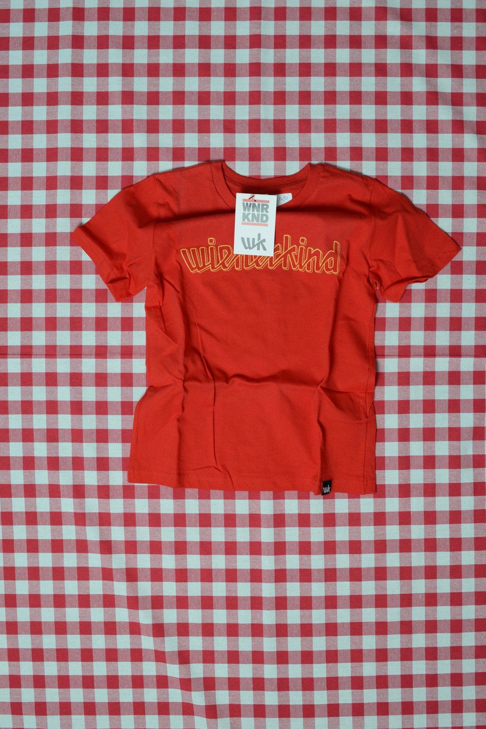 wienerkind Classic Jersey Kids T-Shirt red (DJ DSL)