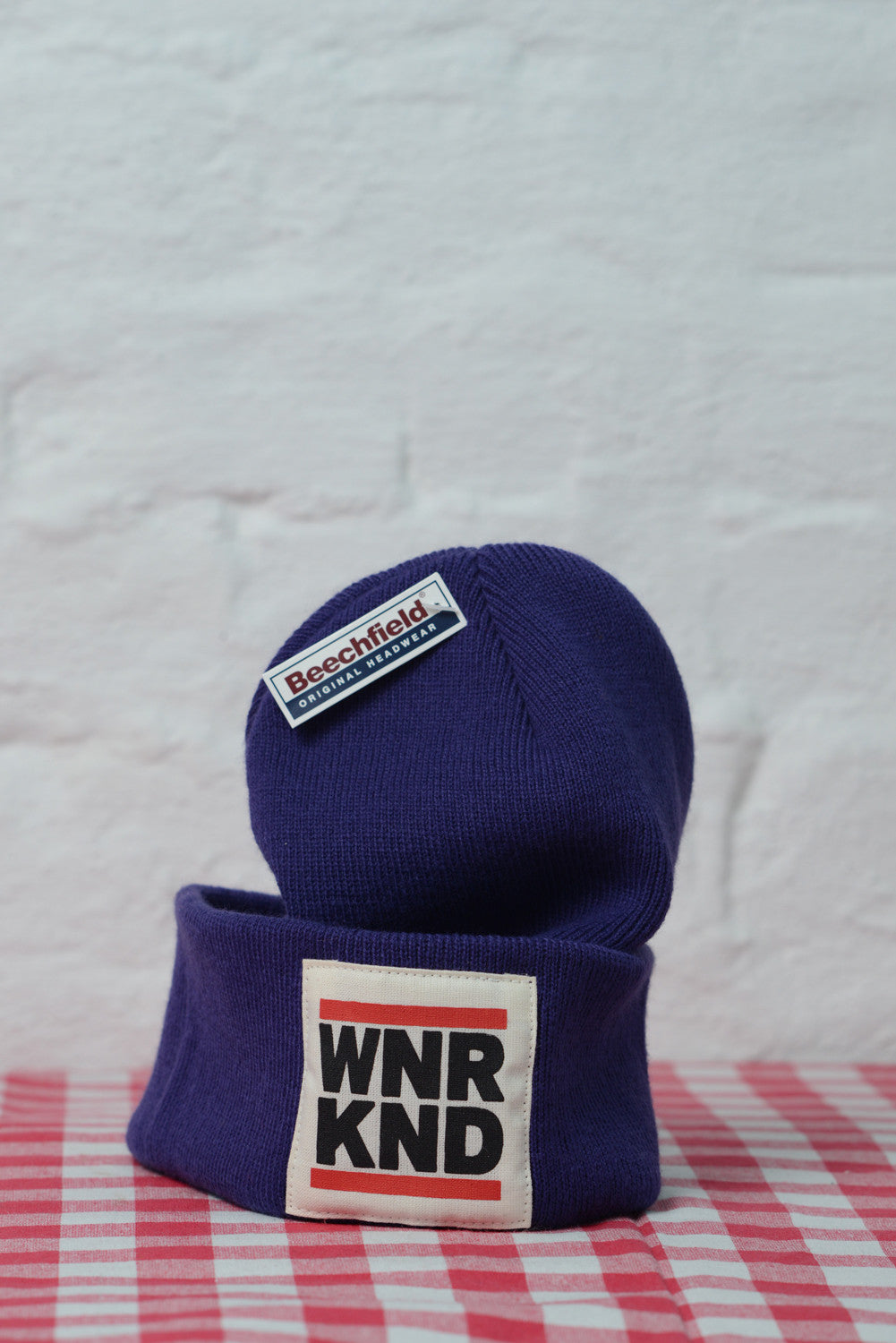 WNRKND Original Beanie purple