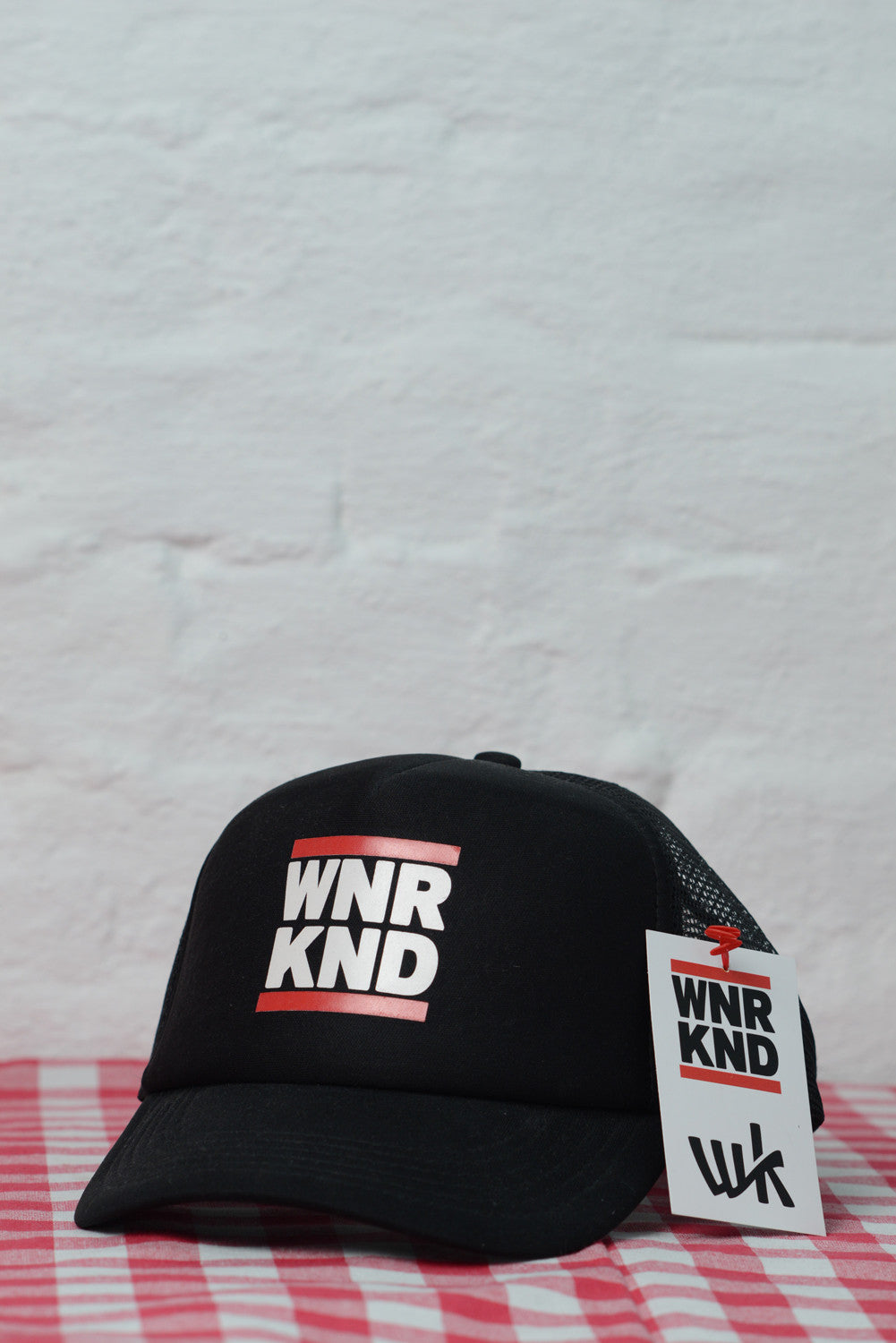 WNRKND Trucker Cap Kids black
