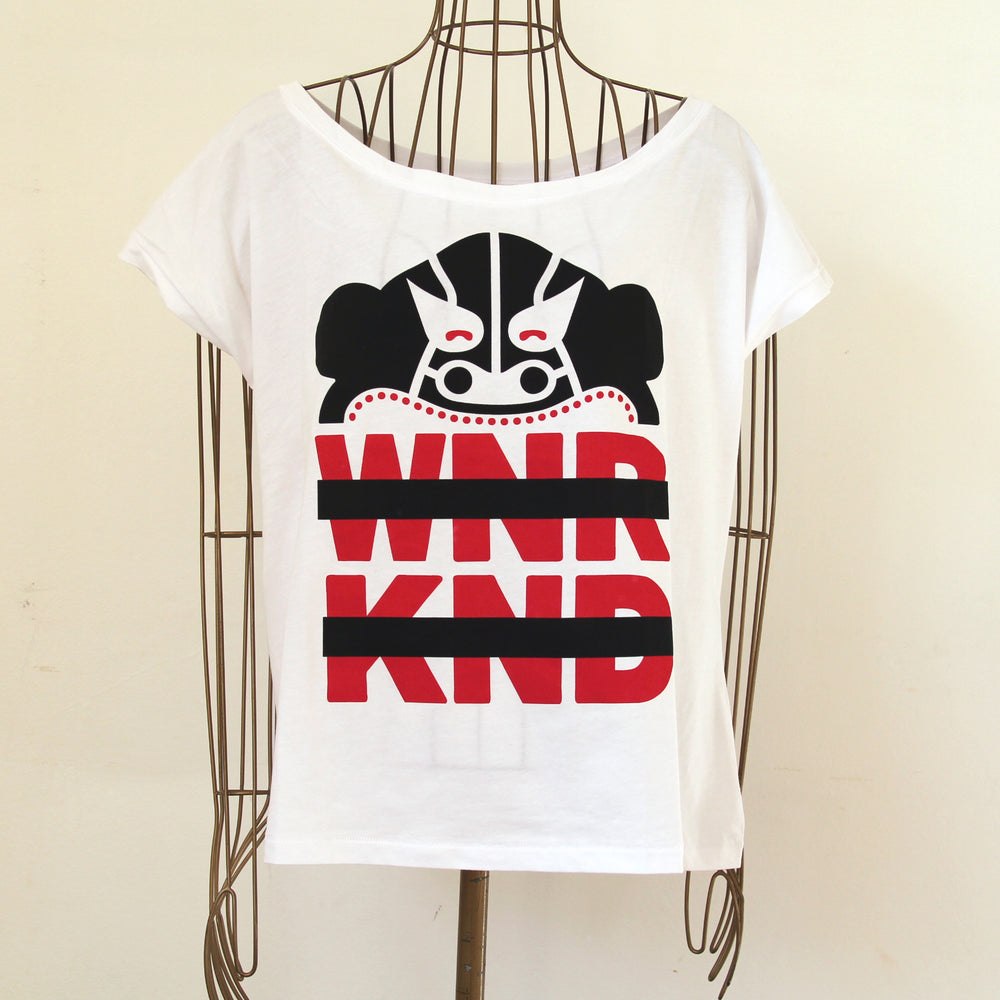 BUSK x WNRKND Wide Female T-Shirt // 2 Farben