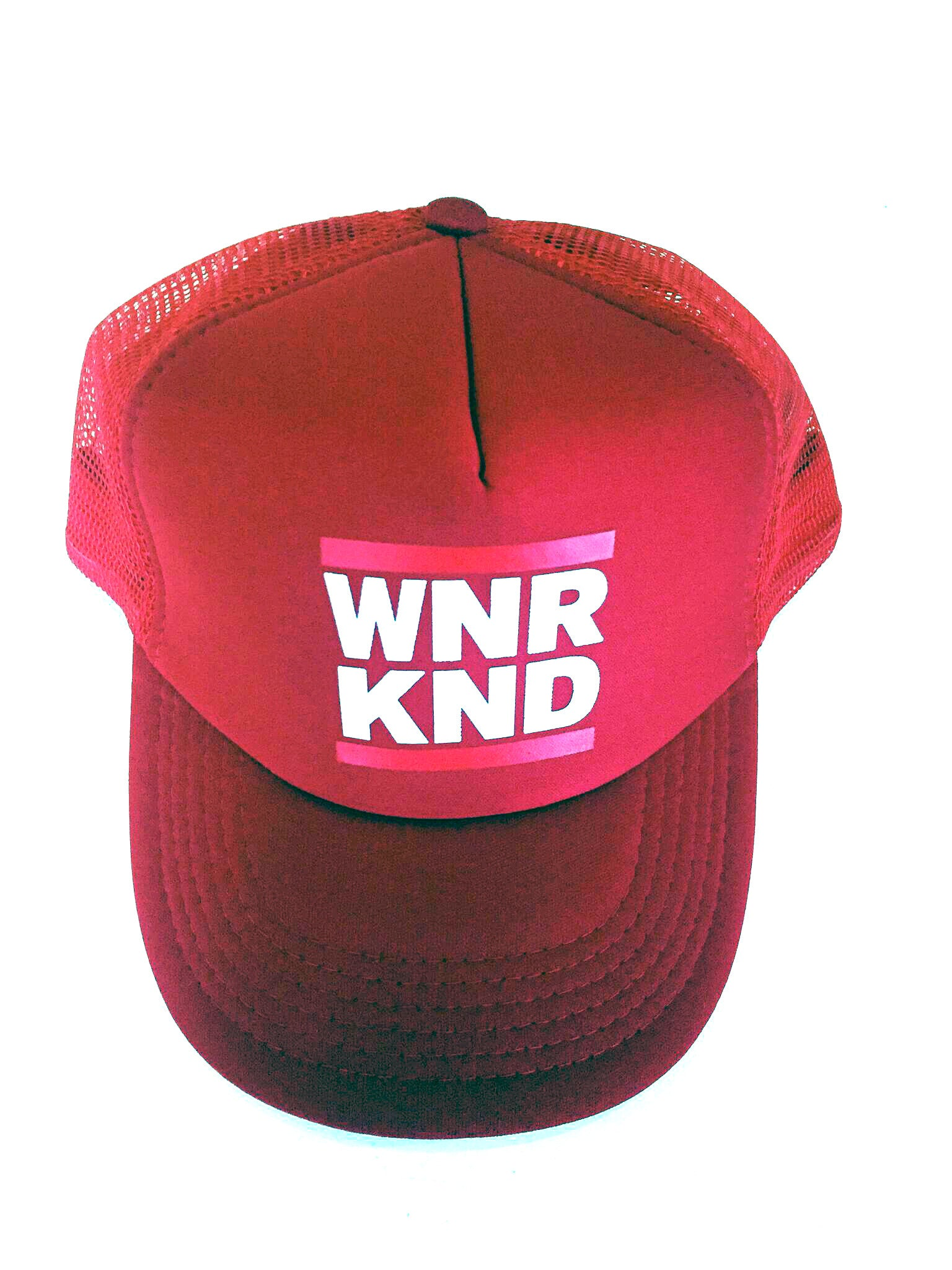 WNRKND Trucker Cap red