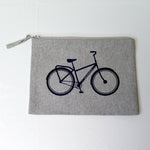 Bike Pencil Case // 2 Farben