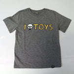 Toys Kids T-Shirt Melange Grey (by The Schwarzfahrer) // unisex