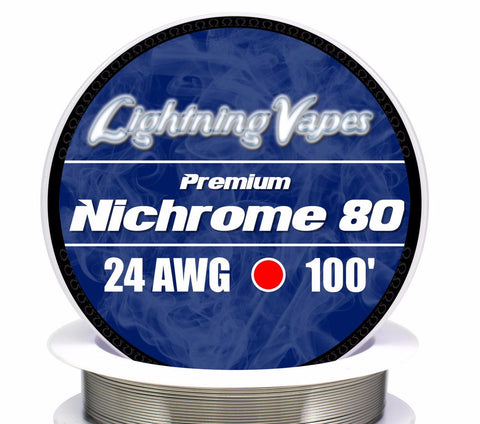 Central Vape City - Wire - Lightning Vapes - Nichrome 80 Wire 100FT