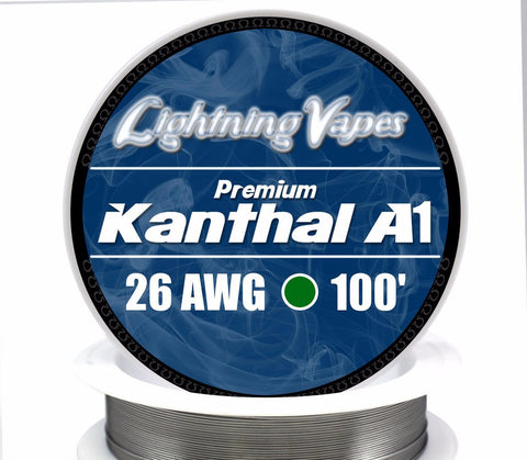 Central Vape City - Wire - Lightning Vapes - Kanthal A1 Wire 100FT
