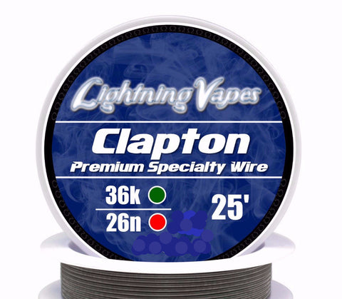 Central Vape City - Wire - Lightning Vapes - Clapton Wire 25FT