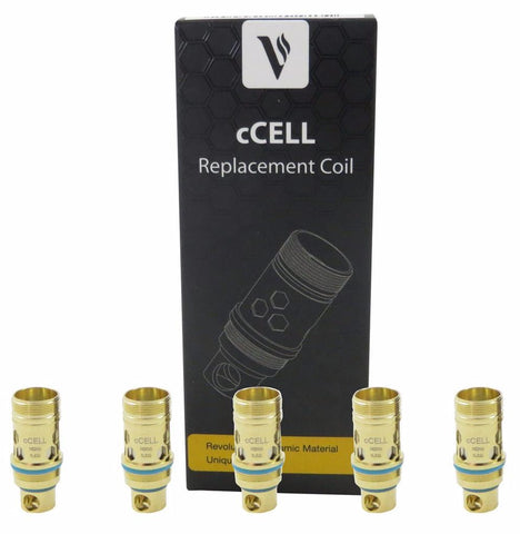Central Vape City - Coils - Vaporesso - cCELL Ceramic Wick Replacement Coils
