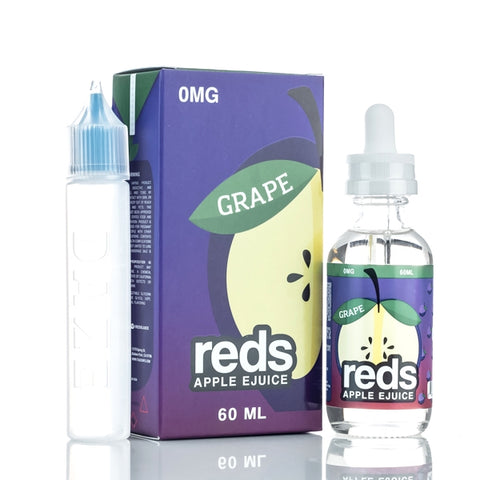 Central Vape City -  - 7 Daze Reds *GRAPE*