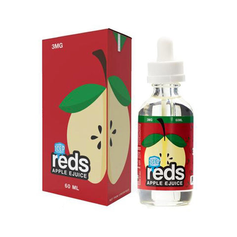 Central Vape City - Juice - 7 Daze - Reds Apple Juice **Ice**