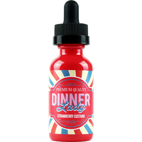 Central Vape City - Juice - Dinner Lady - Strawberry Custard 60ml