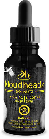 Central Vape City - Juice - Kloudheadz - Dohnutz