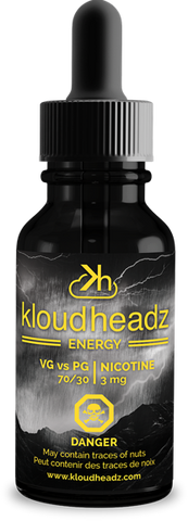 Central Vape City - Juice - Kloudheadz - Energy